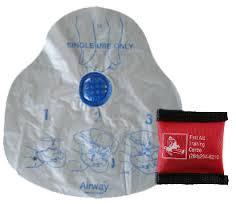 Medium SIzed CPR mask