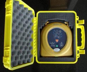 Yellow Case open