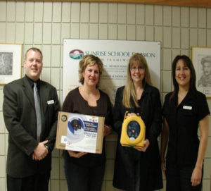 First Aid Training Center award