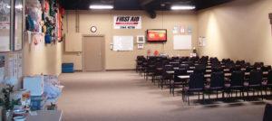 First Aid Training Center interior