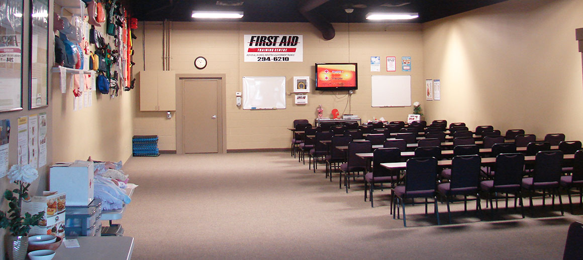 First Aid Training Center interior